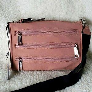 Rebecca Minkoff mini 5 zip crossbody handbag